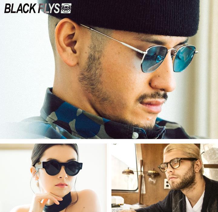 【セール】BLACK FLYS ブラックフライ サングラス UVカット クリアレンズ FLY OXNARD (BF-15501-0331)