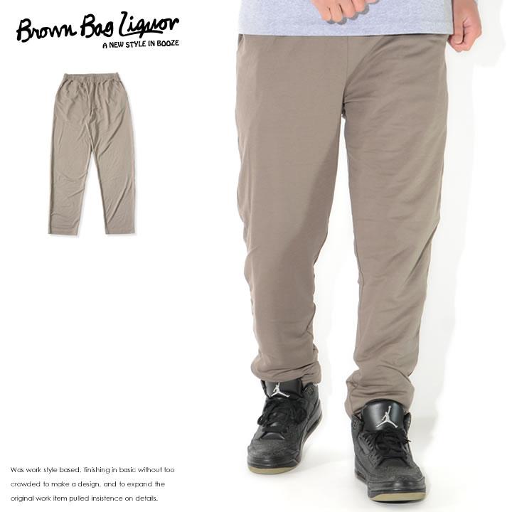 【セール】BROWN BAG LIQUOR ブラウンバッグリカー ロングパンツ イージー 無地 接触冷感 (BBL-PT2102)