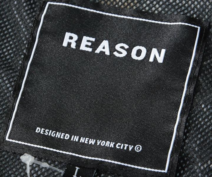 【セール】REASON リーズン ジャケット アノラック 総柄グラフィック (A1-068)