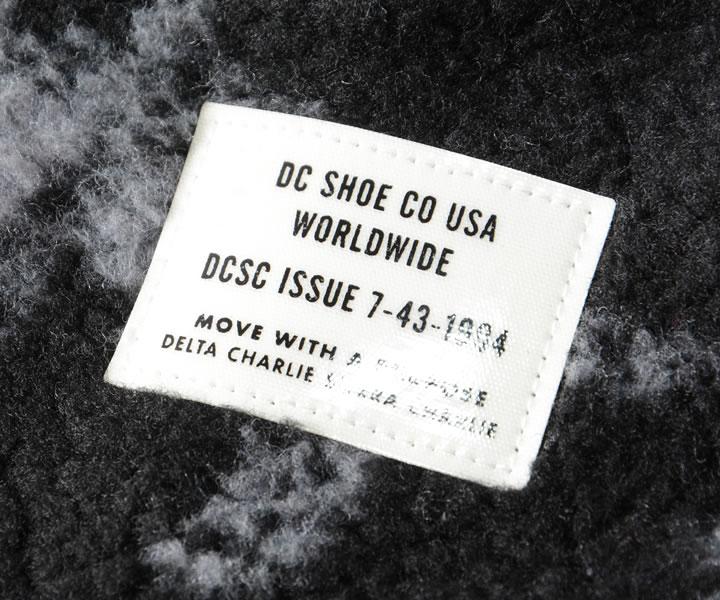 DC SHOES ディーシーシューズ ジャケット ボア シェルパフリース 総柄 (ADYFT03253)