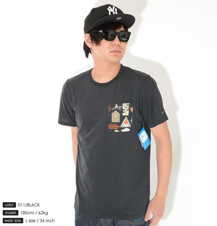 COLUMBIA コロンビア Tシャツ 半袖 ポケットグラフィック (PM1867)