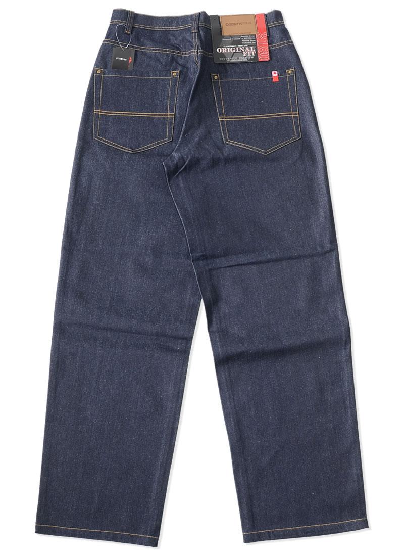 【ビッグサイズ】SOUTHPOLE サウスポール ジーンズ デニムパンツ オリジナルフィット 極太 (31801402)