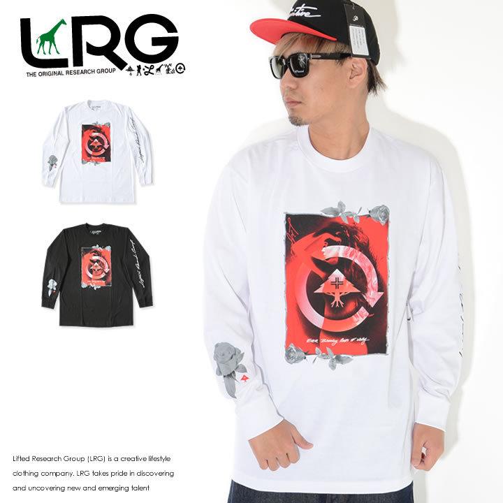 LRG エルアールジー ロンT ロングTシャツ 長袖 レディシルエット ローズフレーム (L0FDMLCXX)