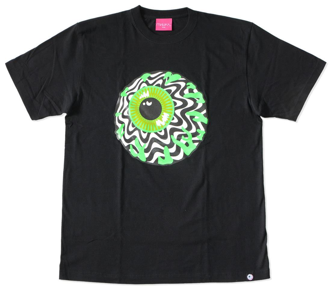 MISHKA ミシカ Tシャツ 半袖 キープウォッチ セーフティグリーン (95235)
