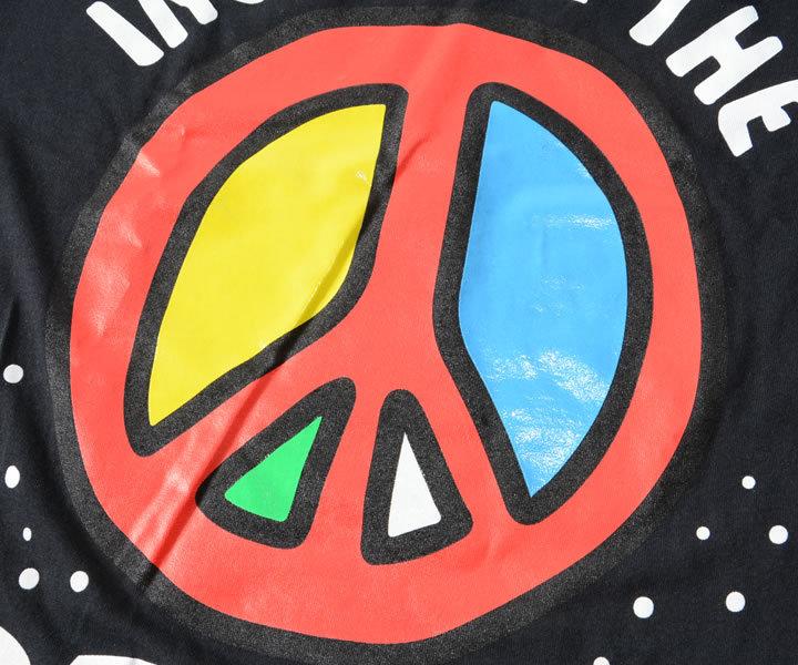 REASON リーズン ロンT 長袖 ピースマーク PEACE (A1-302)