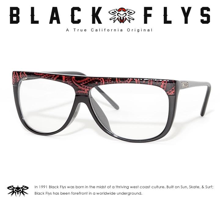 【セール】BLACK FLYS ブラックフライ サングラス UVカット クリアレンズ THUG FLY PAISLEY (BF-8570-18531)