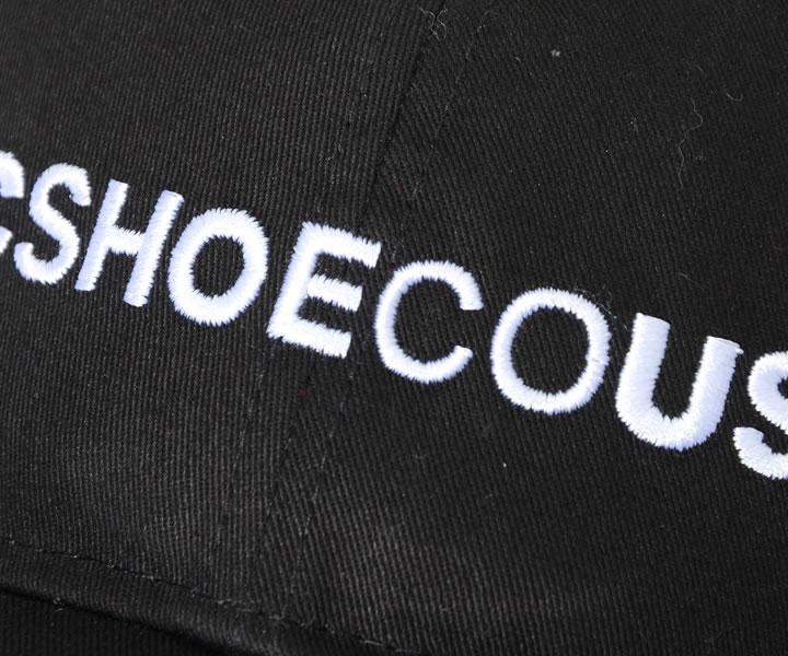DC SHOES ディーシーシューズ キャップ 帽子 アジャスターバック ストレートネームロゴ刺繍 (ADYHA03894)