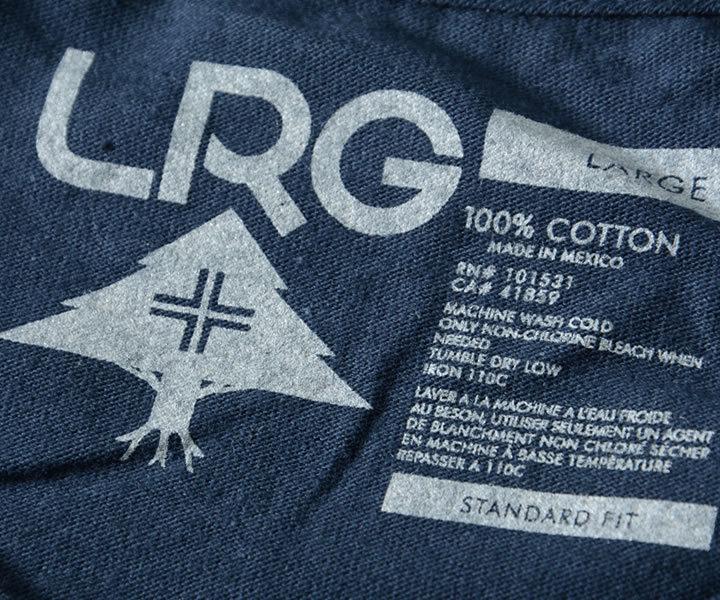 LRG エルアールジー ロンT ロングTシャツ 長袖 POWDER MOVES バックマウンテン (L0FNMLCXY)