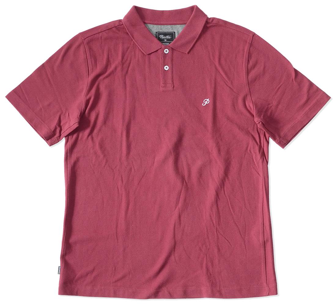 【セール】【アウトレット】PRIMITIVE プリミティブ ポロシャツ 半袖 鹿の子 胸ミニクラシックPロゴ刺繍 *(PA118310)