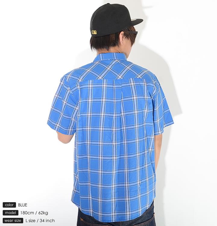 【セール】LRG エルアールジー 半袖シャツ チェック 左胸ポケット (J192017)