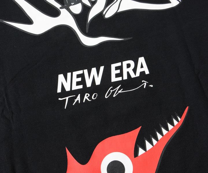 NEWERA ニューエラ ロンT 長袖 岡本太郎 コラボ 明日の神話 (12674281/12674282)