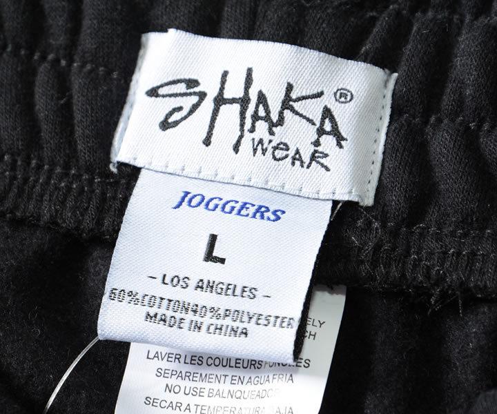 SHAKA WEAR シャカウェア スウェットパンツ ジョガー 無地 8.5oz FLEECE JOGGERS