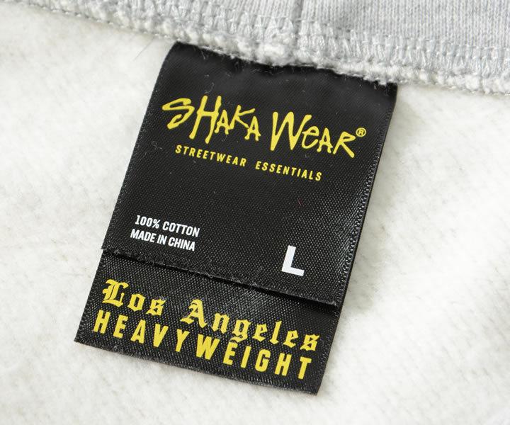 SHAKA WEAR シャカウェア スウェットパーカー 無地 Los Angeles HEAVY WEIGHT 13.5oz