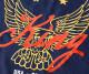 【セール】REASON リーズン スウェットパーカー King イーグルプリント バイアス切り替え (D0-003)