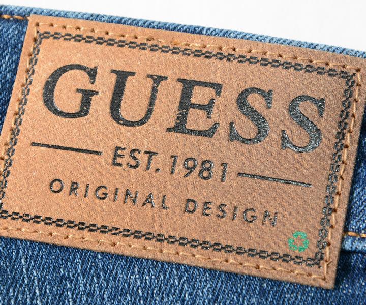 GUESS ゲス ショートパンツ デニム ウォッシュ加工 (M1GD03D4B74)