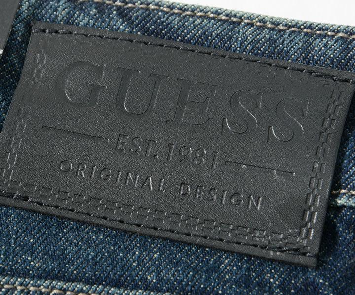 GUESS ゲス ショートパンツ デニム ダメージ加工 (M1GAV3R4710)