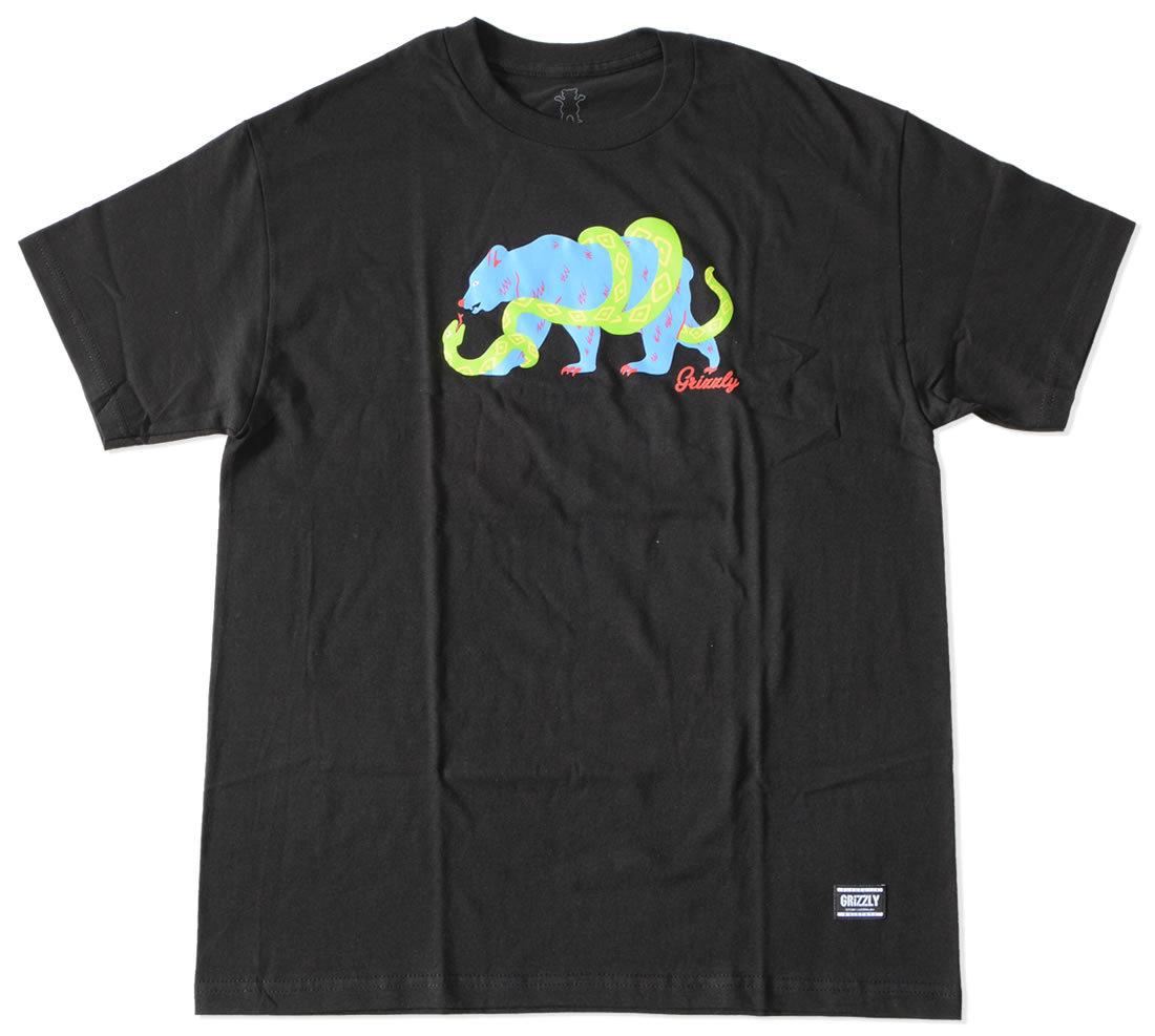 GRIZZLY グリズリー Tシャツ 半袖 ビッグベア スネーク (vigr21sp95/vigr21sp96)