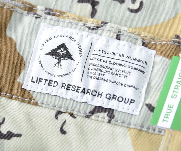 【セール】LRG エルアールジー ハーフパンツ ショートパンツ カーゴポケット 総柄 デザートカモ (J196011)