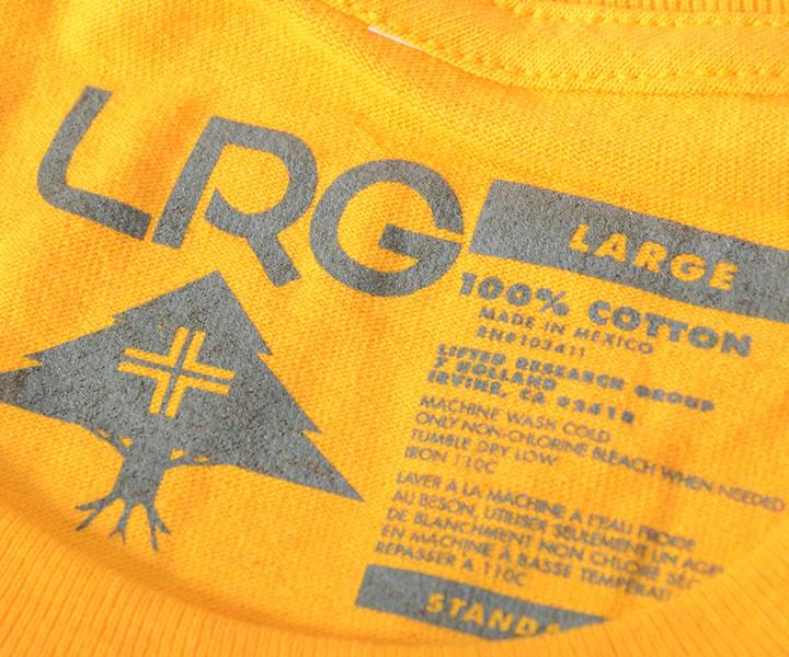 【セール】LRG エルアールジー Tシャツ 半袖 段ロゴ マルチカラー (K191009)