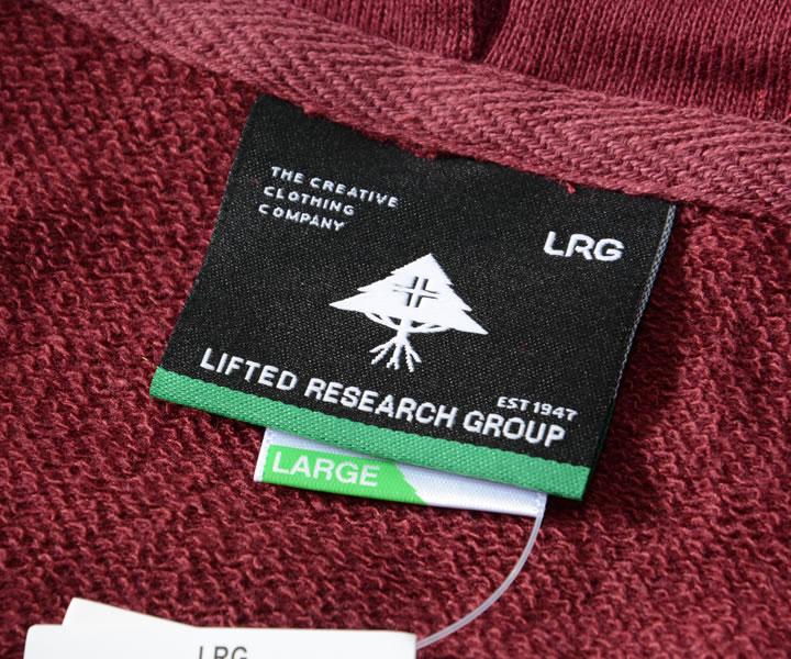 LRG エルアールジー スウェットパーカー ゴールドリーフエンブレム パイピングライン (L04BML0XX)