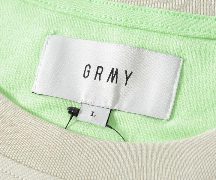 GRIMEY グライミー ロンT ロングTシャツ マルチ切り替えレイヤード ビッグフェイス (GLS136)