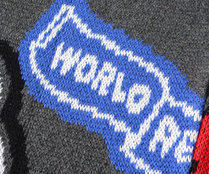 【セール】STAPLE ステイプル ニット セーター 総柄 マルチグラフィック (2011S6303)