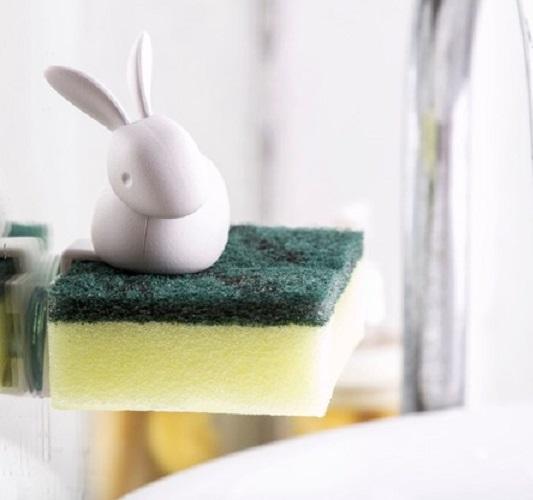 ウサギ型スポンジホルダー (スポンジバニー)
