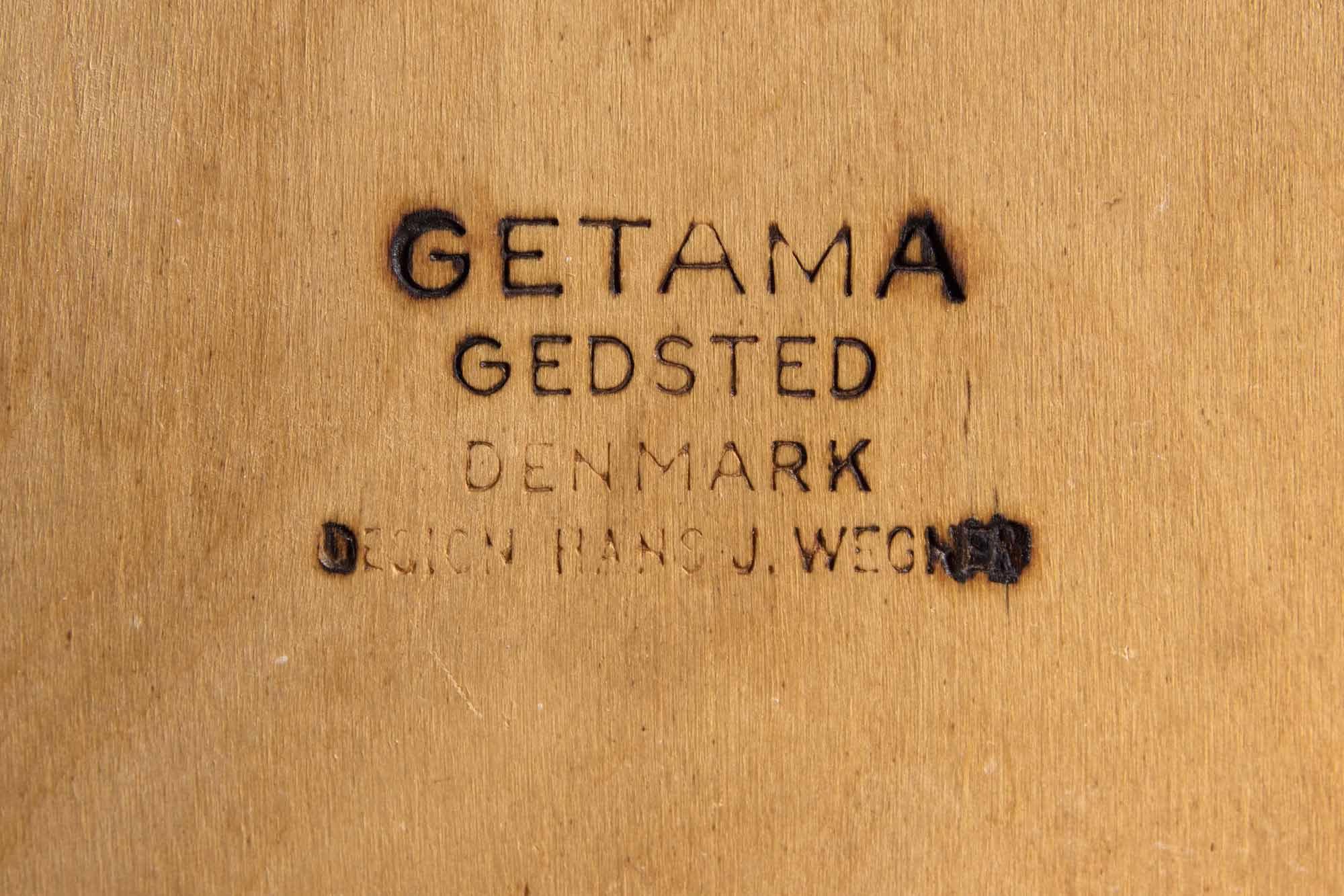 【4脚セット】Arm Chair by Hans.J.Wegner