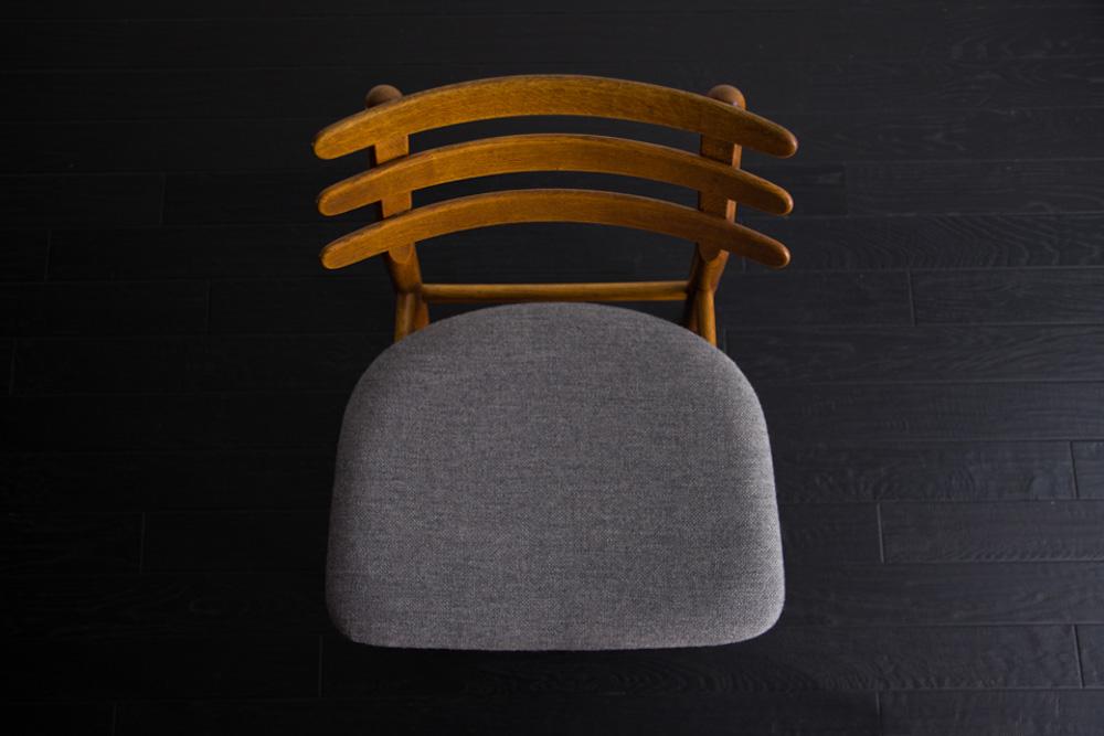 【2脚セット】J48 Dining Chair by Poul M Volther