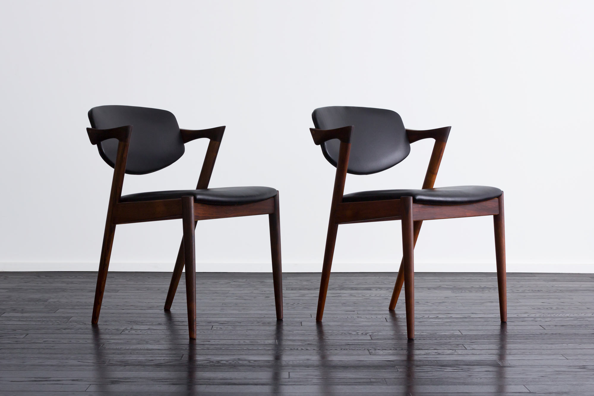 【2脚セット】No.42 Arm Chair by Kai Kristiansen