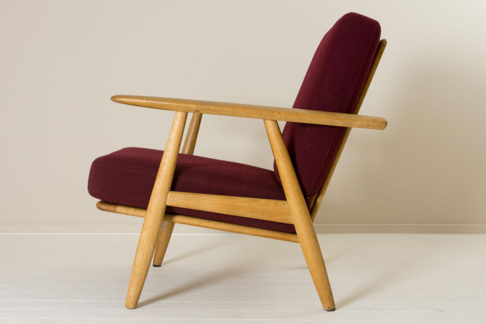 GE240 Easy Chair by Hans J Wegner