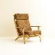 GE290A High back Chair by Hans J Wegner