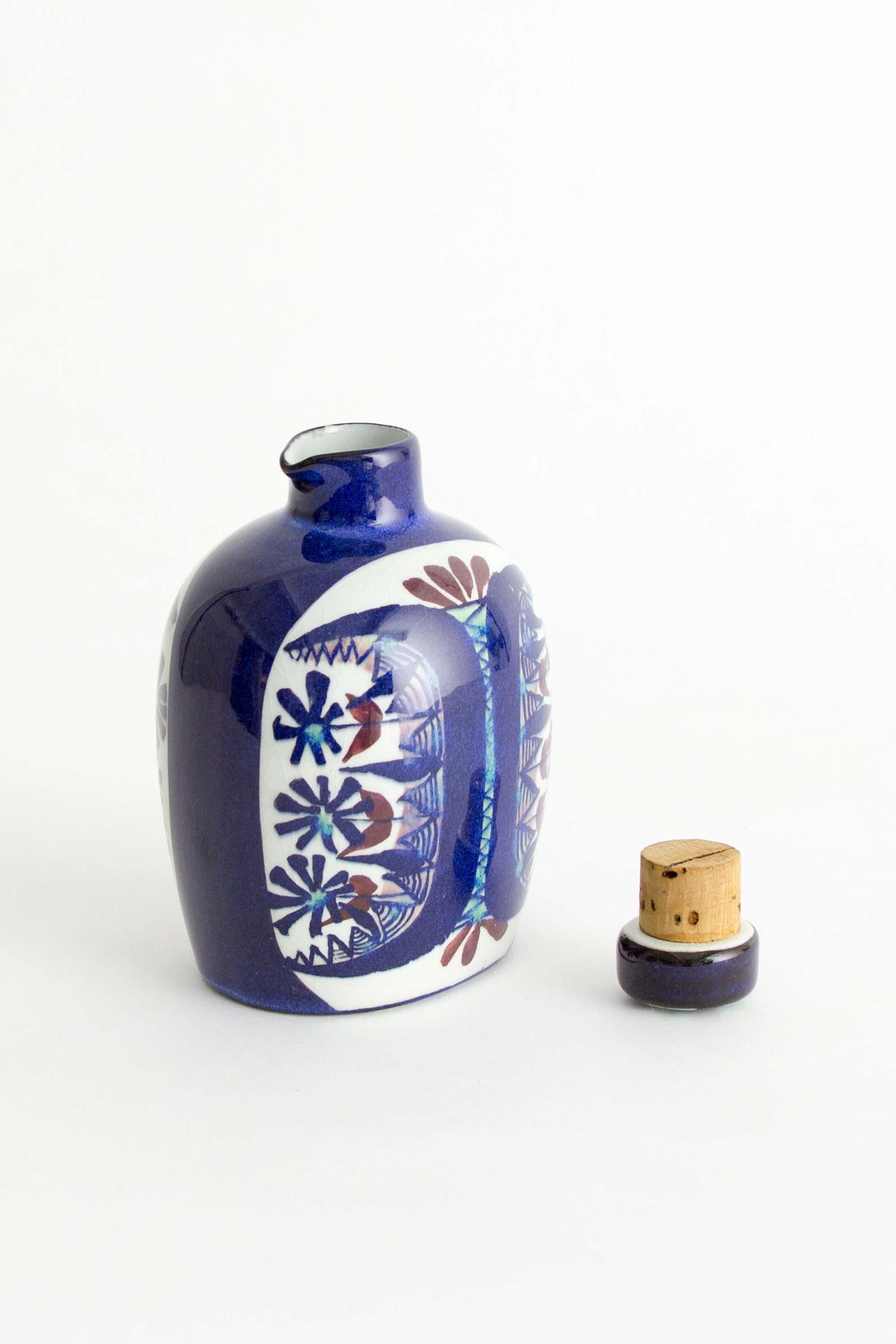 Bottle designed by Marianne Johnson