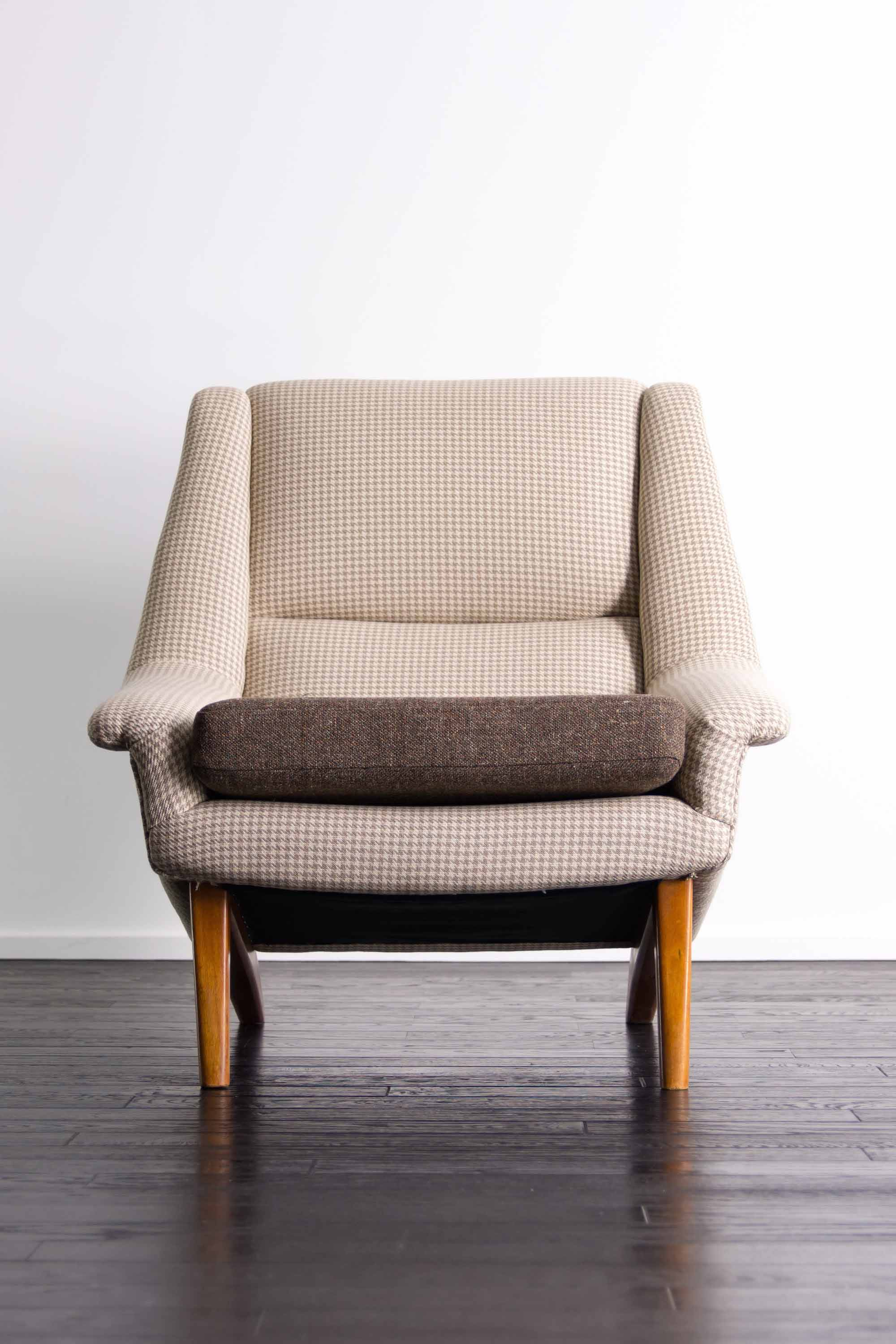 #4410 High back Chair by Folke Ohlsson