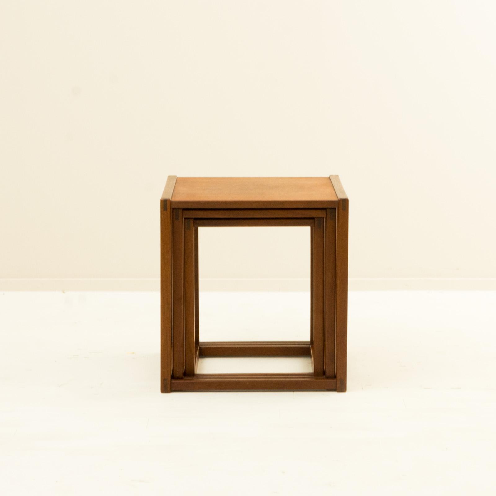 Nest Table by Borge Mogensen
