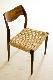 【2脚セット】 #71 Chair by Niels O Møller