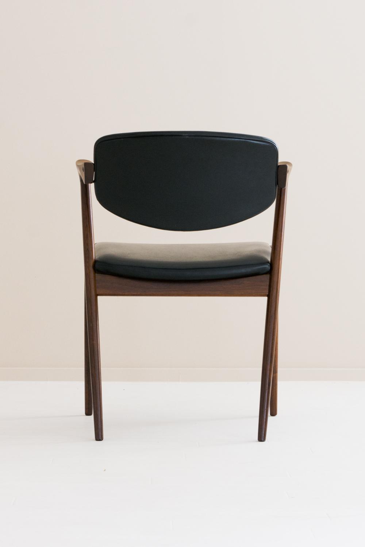 【2脚セット】No.42 Arm Chair by Kai Kristiansen