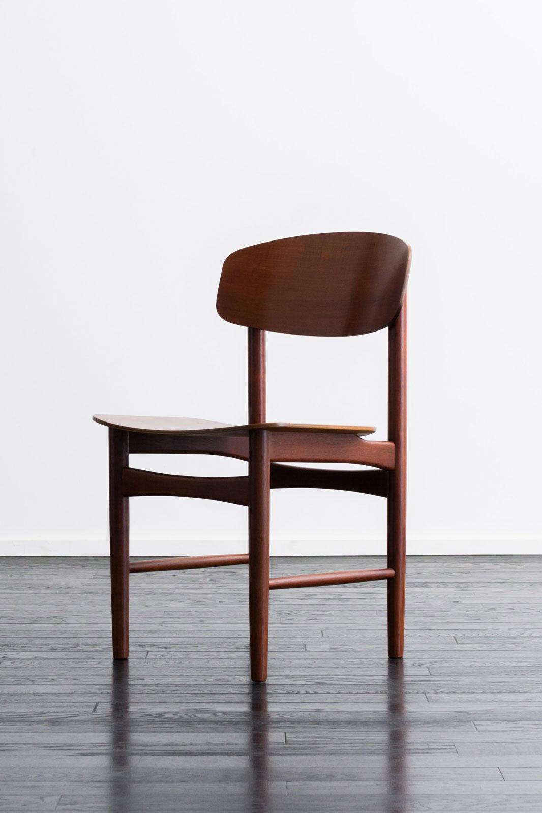 【4脚セット】#122 Dining Chair by Borge Mogensen