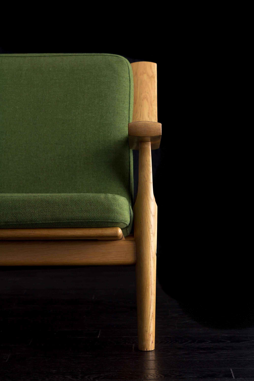 GE530 Easy Chair by Hans J Wegner