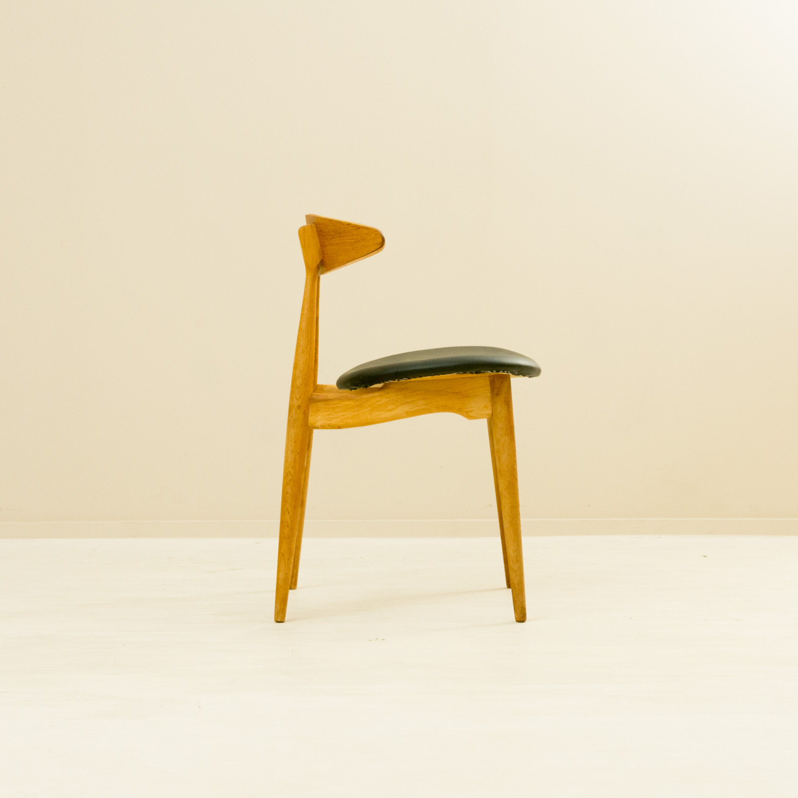 【4脚セット】CH33 Dining Chair by Hans Wegner