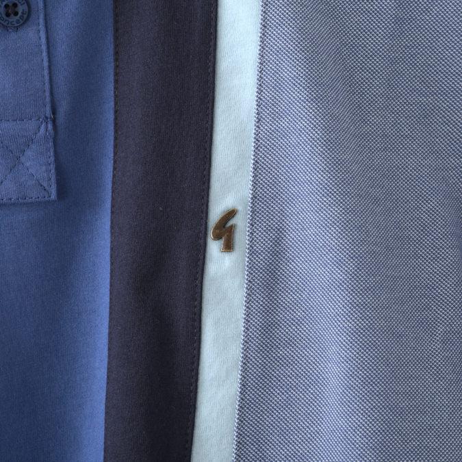 Gabicci メンズ ポロシャツ ポロ ガビッチ ストライプ 19SS  レトロ 2色 オート フィストラル