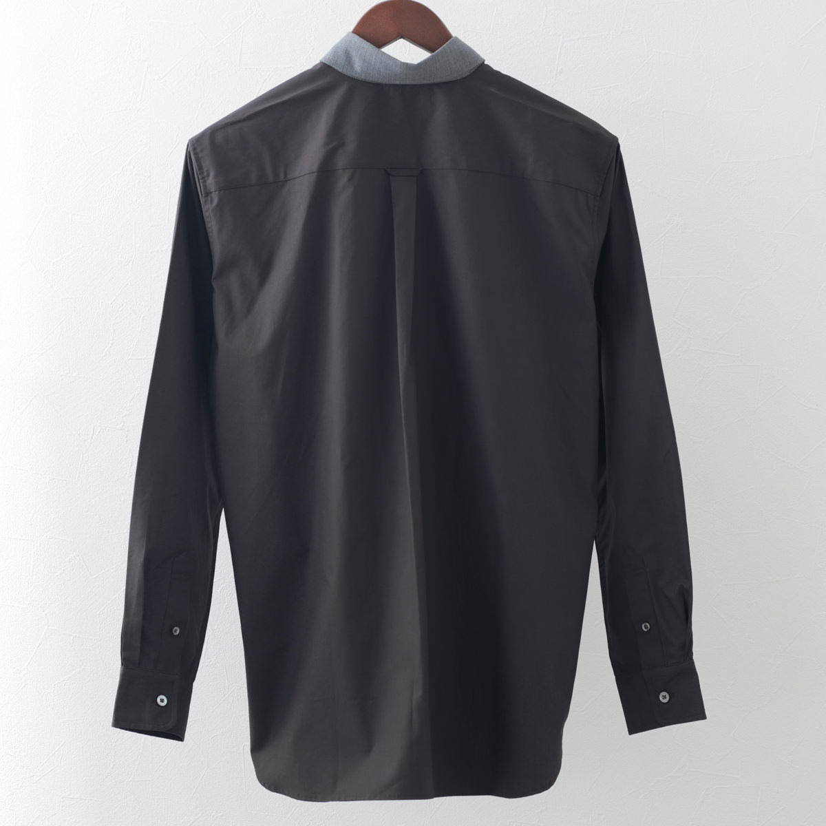 フレッドペリー 秋冬 メンズ 長袖 コットン パネル デザイン シャツ Fred Perry 2色 チャコールグレー ベージュ 正規販売店 ギフト