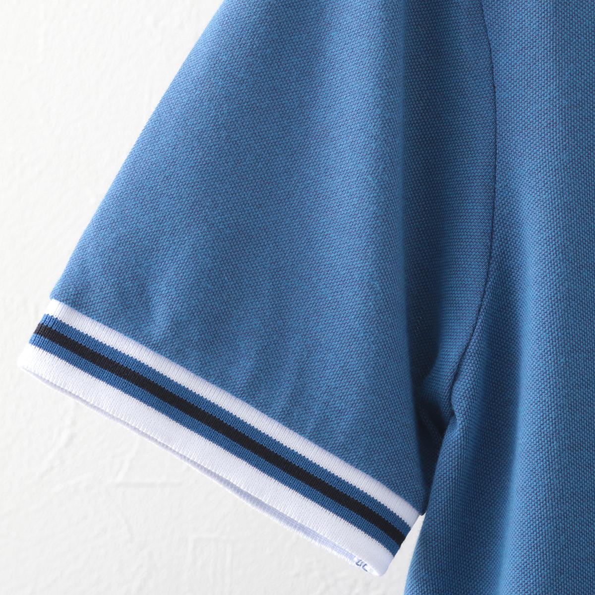 Gabicci メンズ ポロシャツ ポロ ティップライン ガビッチ コロン レトロ モッズファッション