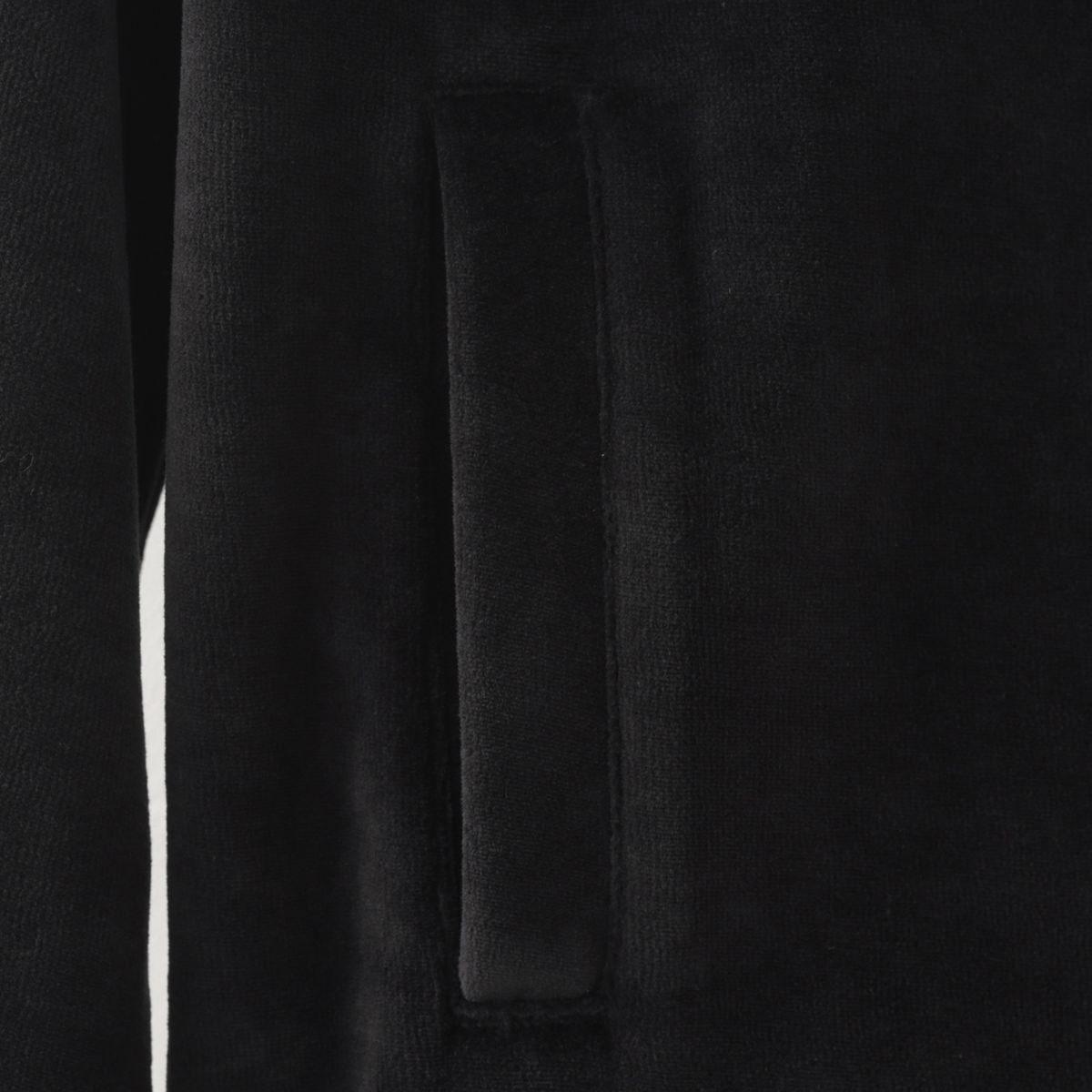 フレッドペリー 秋冬 メンズ ベロア ボンバー ジャケット ブラック Fred Perry 正規販売店 ギフト トラッド