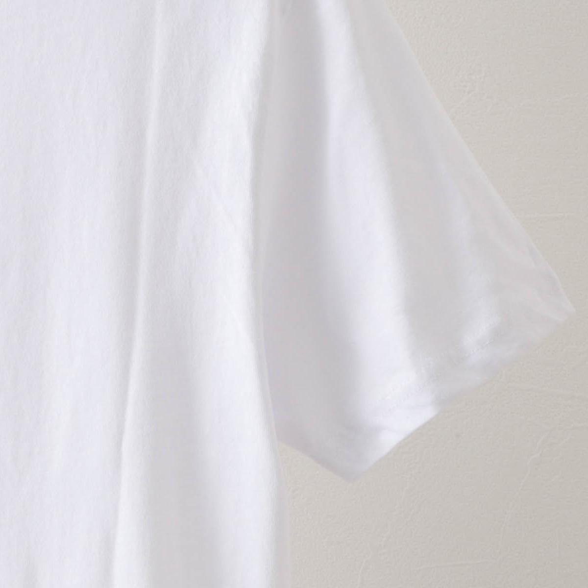 Tシャツ ドゥードゥルプリント 2色 グリーン ホワイト オーガニックコットン レギュラーフィット Ben Sherman ベンシャーマン