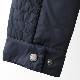 メルクロンドン メンズ キルティングジャケット Merc London W1 プレミアム ライダージャケット ダークネイビー Jacket ジャケット モッズファッション プレゼント ギフト