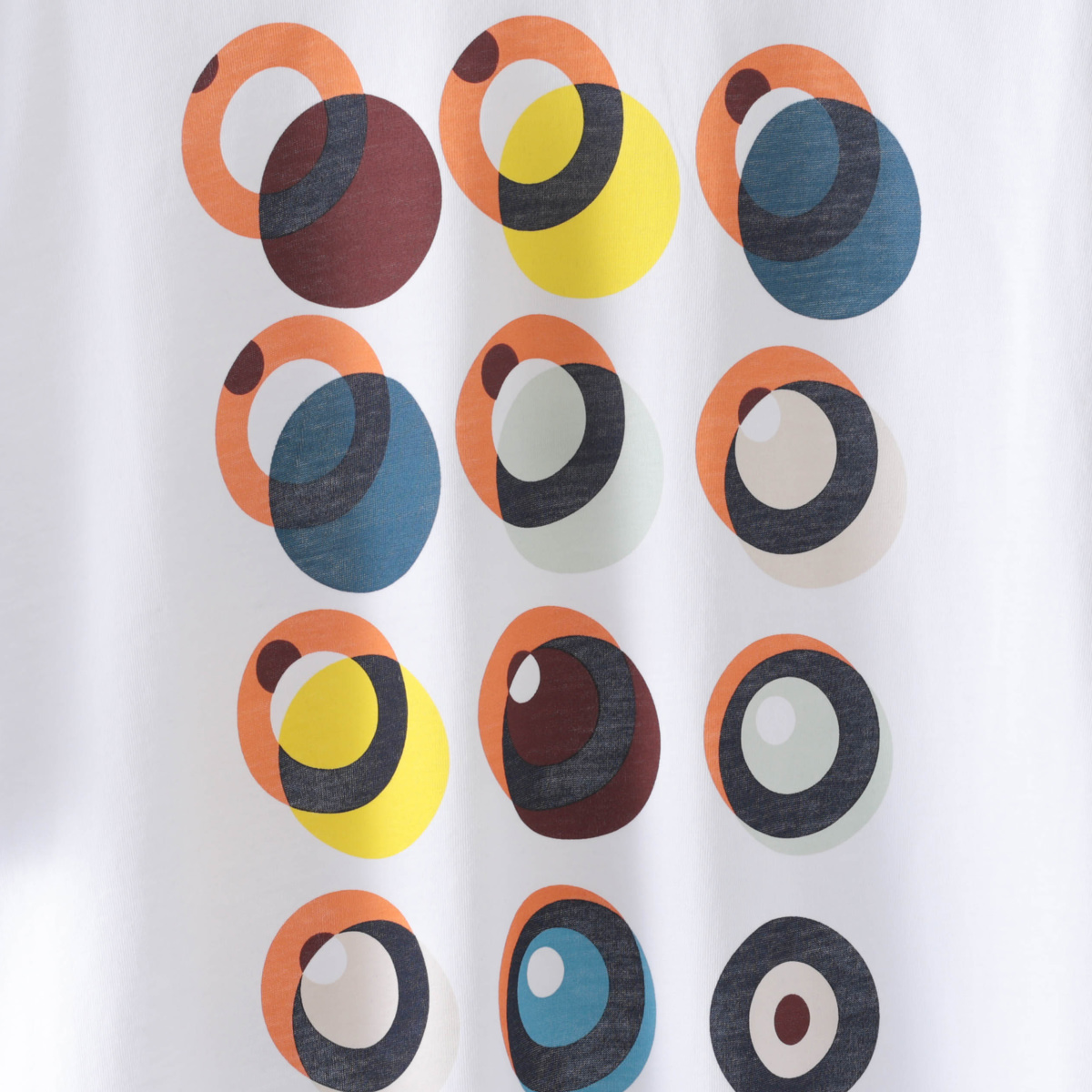 Tシャツ ターゲットグラフィックプリント 2色 マリン ホワイト オーガニックコットン レギュラーフィット Ben Sherman ベンシャーマン