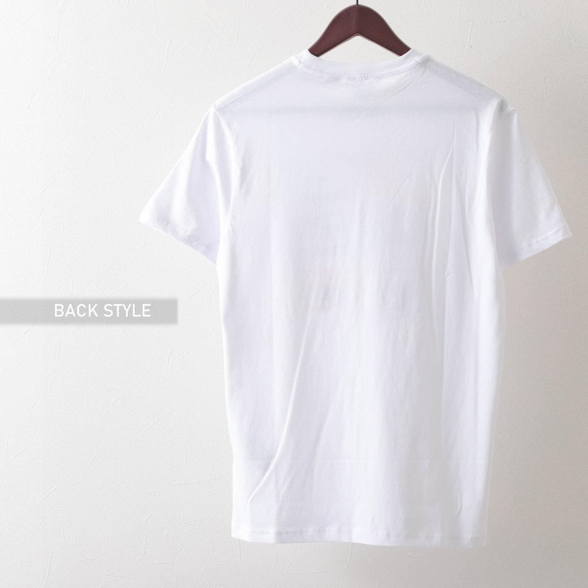 Ben Sherman ベンシャーマン メンズ Tシャツ ロストテーププリント 2色 マリン ホワイト オーガニックコットン レギュラーフィット
