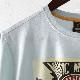 メルクロンドン メンズ Tシャツ ミュージックポスター Merc London 19SS 2色 シーグリーン バーガンディー