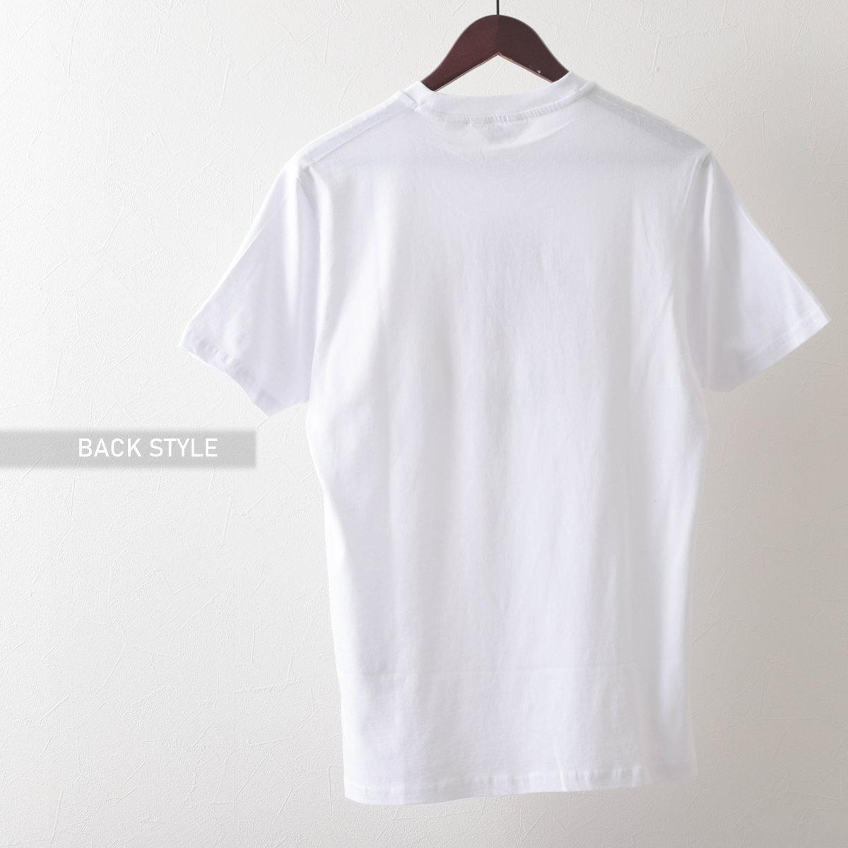 Ben Sherman ベンシャーマン メンズ Tシャツ ペイントターゲットマークプリント 2色 ダークネイビー ホワイト オーガニックコットン レギュラーフィット
